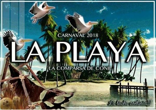 """La Comparsa de Conil """"Los pequeños""""(2017) """"LA PLAYA"""