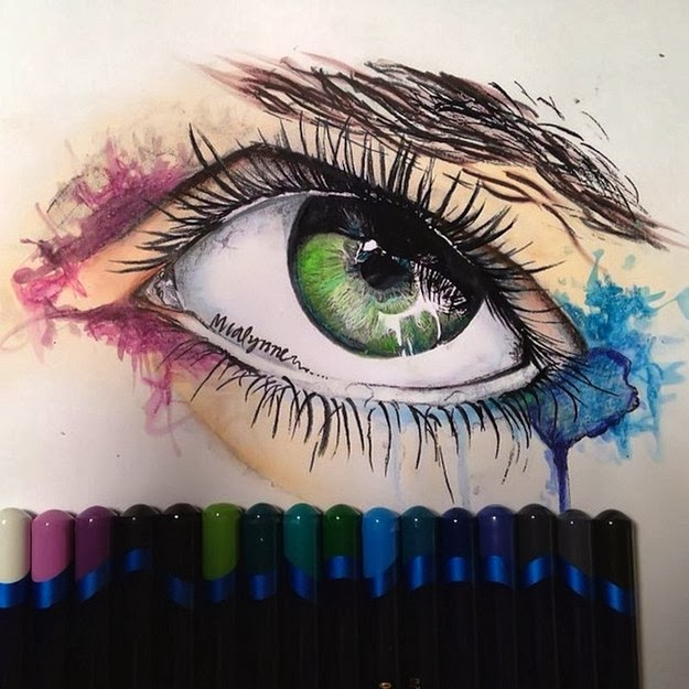 incredible hand-made drawings 1