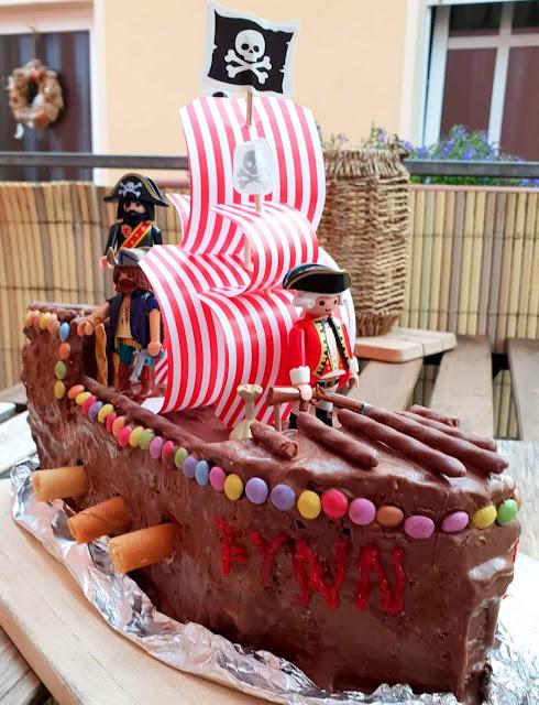 Geburtstag Haben Ist Toll Inkl Rezept Fur Die Piratenschiff Torte