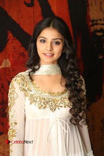 Telugu Actress Mahima Makwana Stills in White Desginer Dress at Venkatapuram Movie Logo Launch  0026.JPG