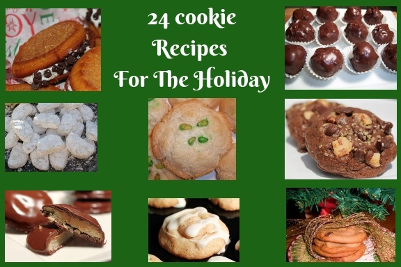 24 different kinds of cookie recipes shared on how to make Christmas cookies