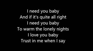 Download Lagu I Need You Baby Mp3 Musik Gratis