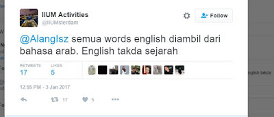 English IIUM Arab Twitter