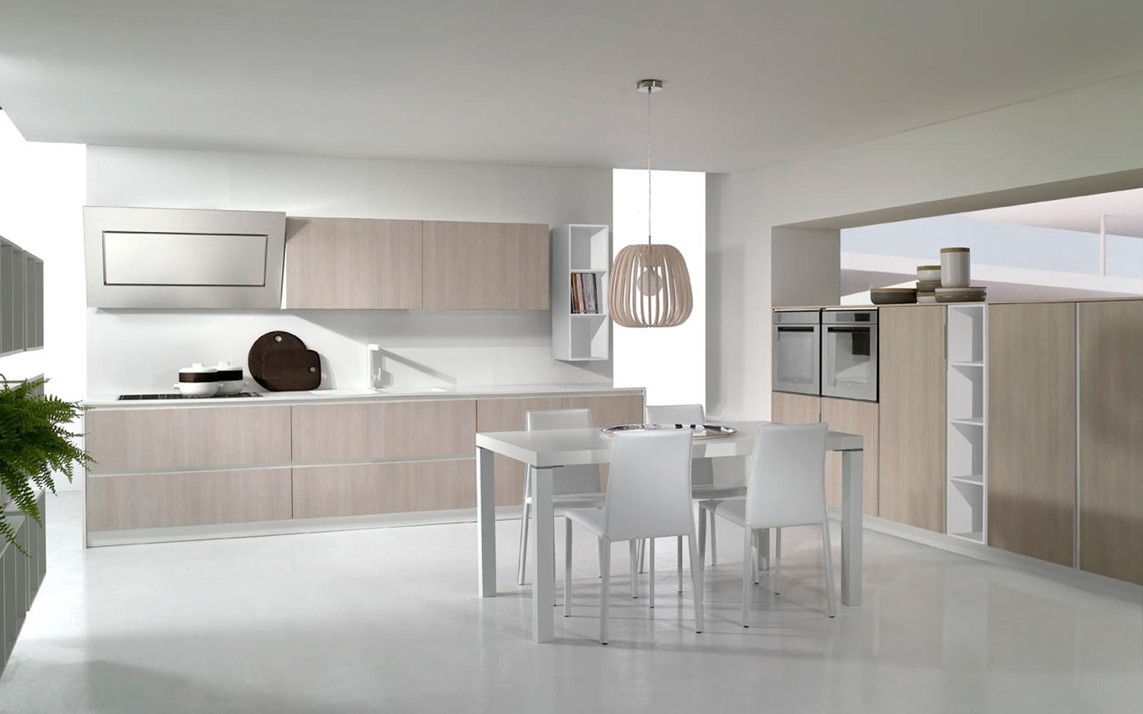 Cucina Moderna Piccola Quadrata   Sala Cucina Piccola Come Arredare ...