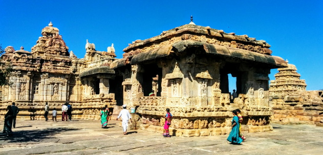 The gorgeous temple architecture school of Pattadakkal, Karnataka
