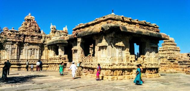 The gorgeous temple architecture school of Pattadakkal, Karnataka