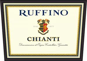 Ruffino Chianti lable