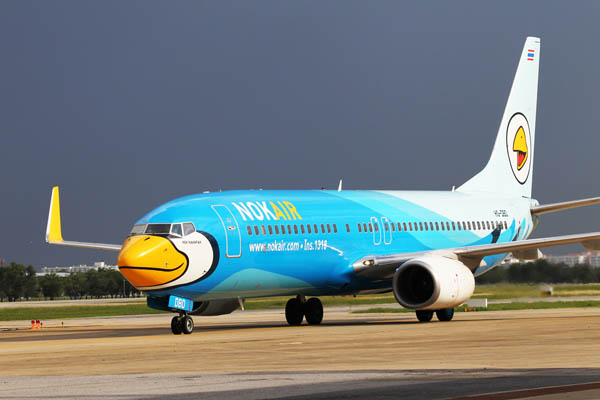 Booking with Nok Air