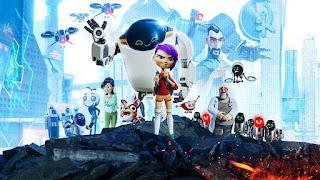 Imagen promocional con todos los personajes de la película