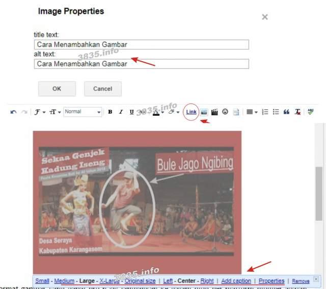 Cara Menambahkan Gambar di Blog (Blogger)