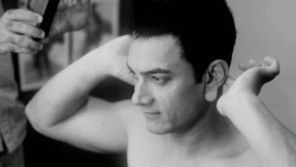 Aamir Khan with Popped Ears for (Peekay) PK