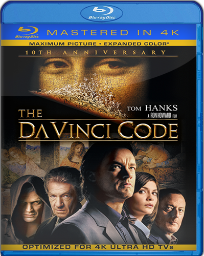 The Da Vinci Code [10th Anniversary] ]Remastered] [2006] [BD25] [Español]