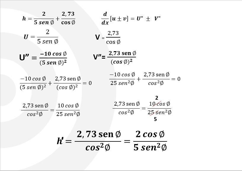 Calculo diferencial operaciones matematicas