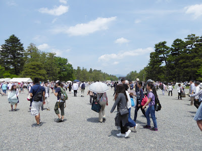京都御苑・葵祭 混雑