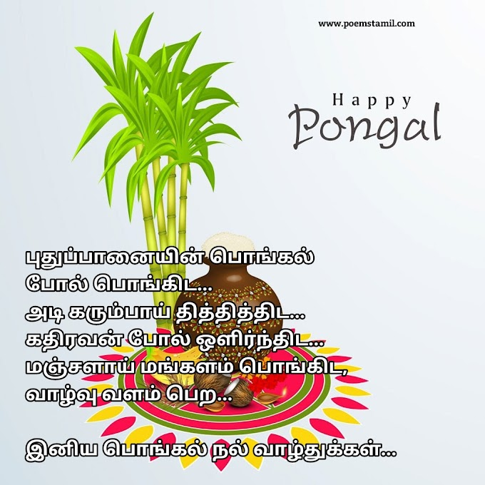 Pongal kavithai in tamil 2019 | Happy pongal kavithai 2019 tamil