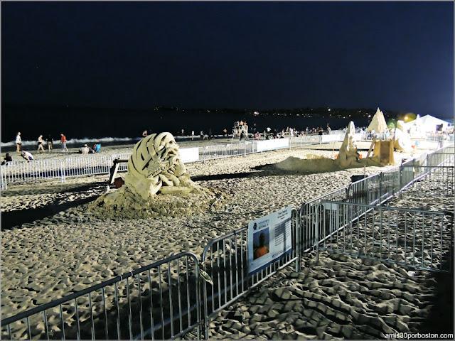 Festival Internacional de Esculturas de Arena de Revere Beach 2017