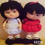 patron gratis muñeca amigurumi, free pattern amigurumi doll