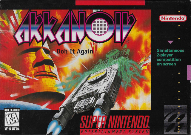 ROMs - Arkanoid - Doh It Again (Português) - SNES Download