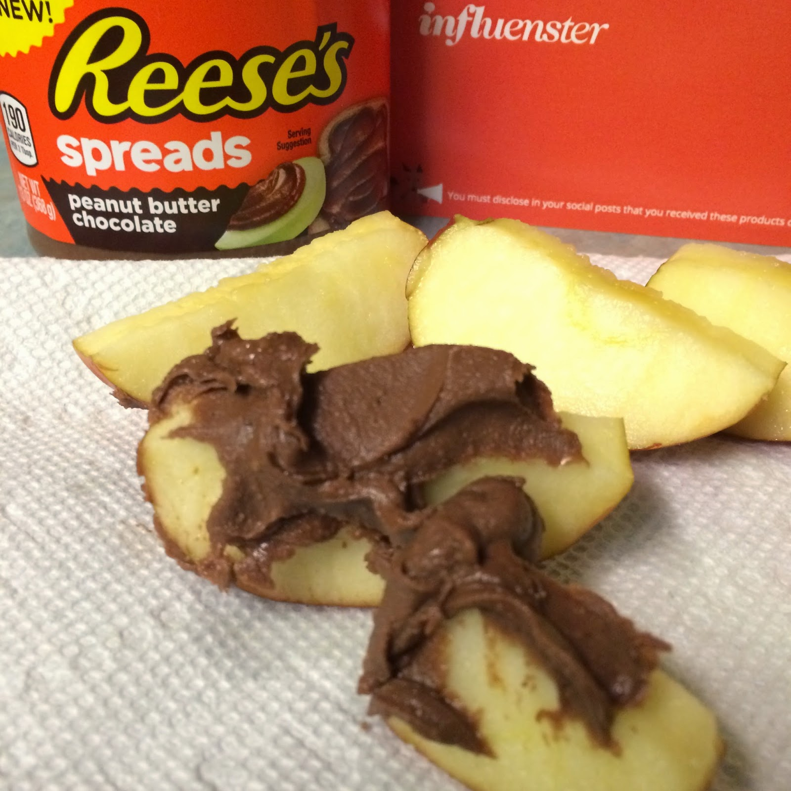 Reese's Spreads on apple #reesesspreads #review