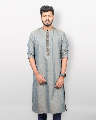 cotton long panjabi