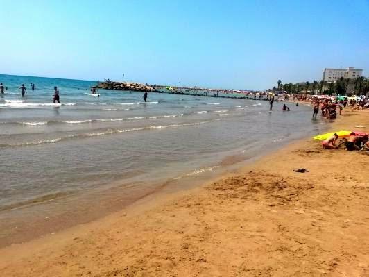 Beach in Cunit