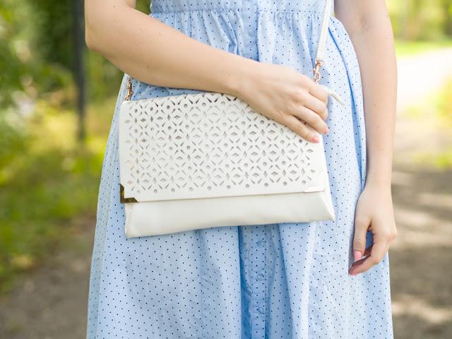 Weisse Tasche