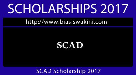 SCAD Scholarship 2017
