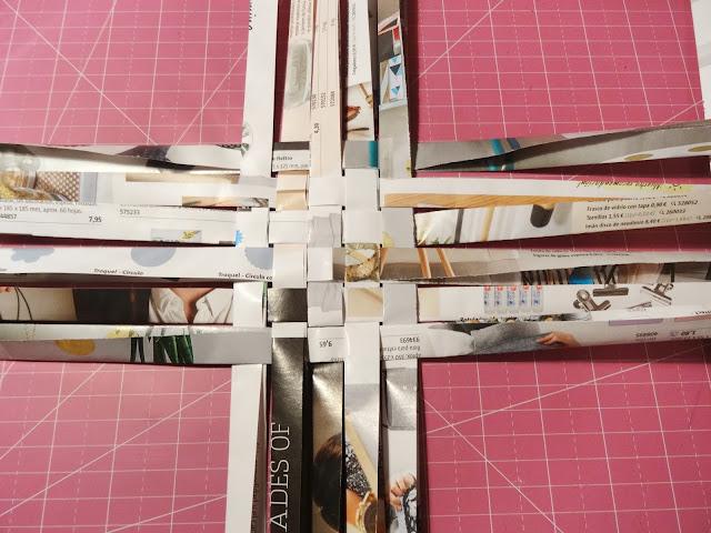 Organizador washi tapes hecho a mano