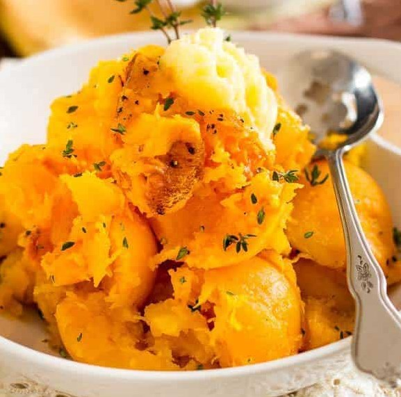 OVEN ROASTED BUTTERNUT SQUASH #vegetarian #veggies