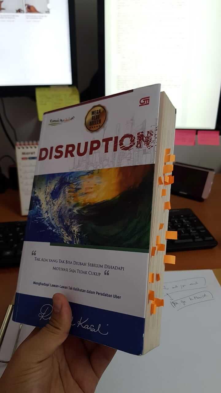 Buku Disruption - Rhenald Khasali