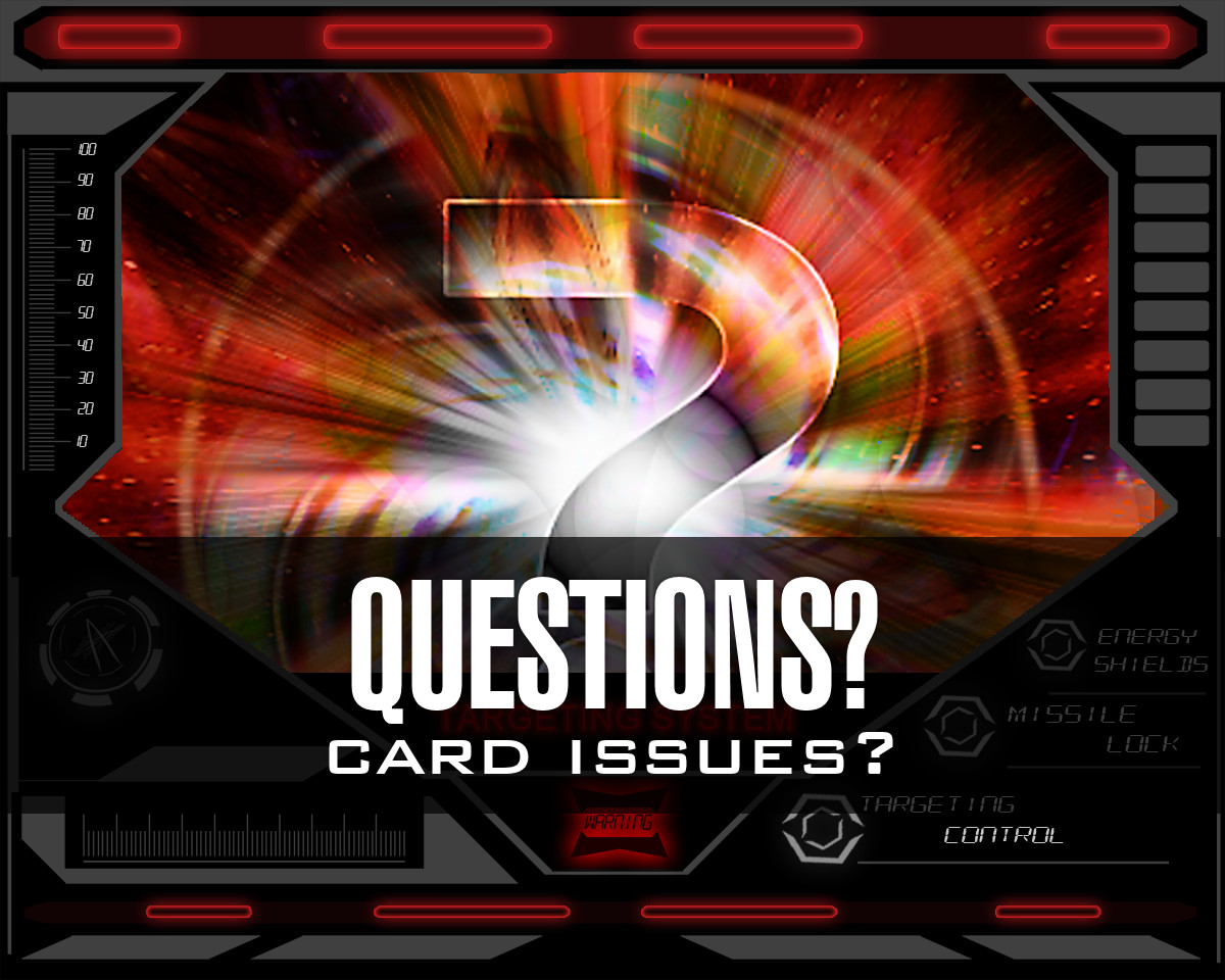 Dog Fight: Starship Edition card questions
