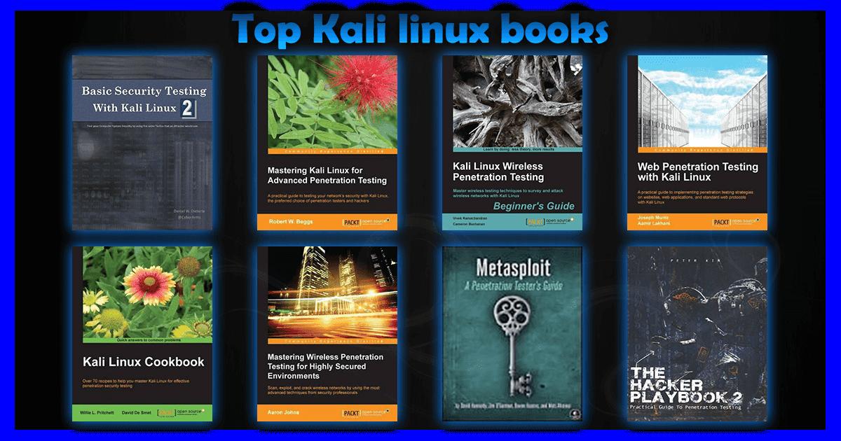Top Kali linux books - KaliTut