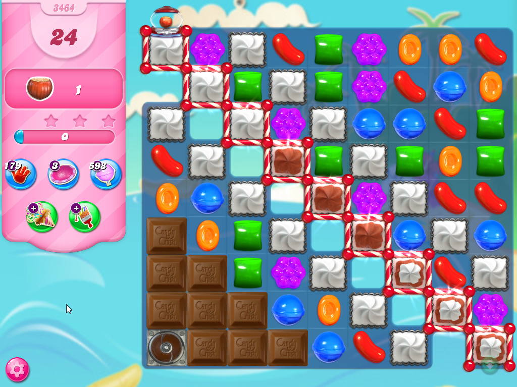 Candy Crush Saga level 3464