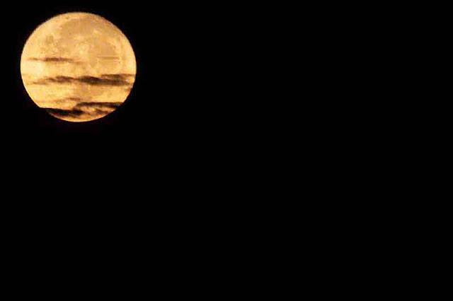 astronomy, clouds, moon, Okinawa, Japan