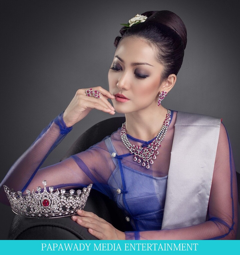 May Barani Thaw - Miss Universe Myanmar 2015 Popular 10 Pictures