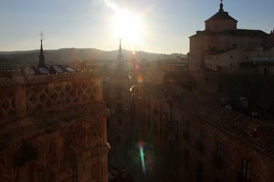 Vistas de Toledo desde la torre campanario