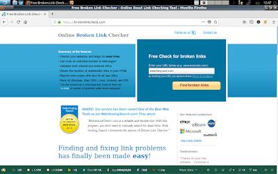 Cara mengecek broken link