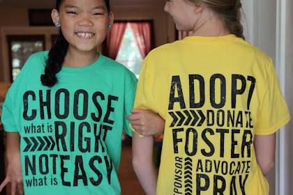Adoption Family Shirts