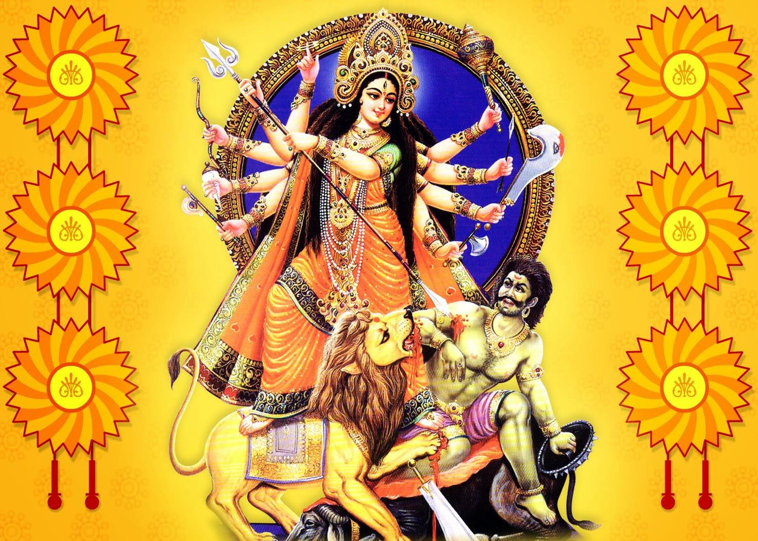 Beautiful Durga Wallpaper