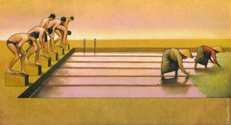 Multifaceted and interesting illustrations by Paul Kuczynski