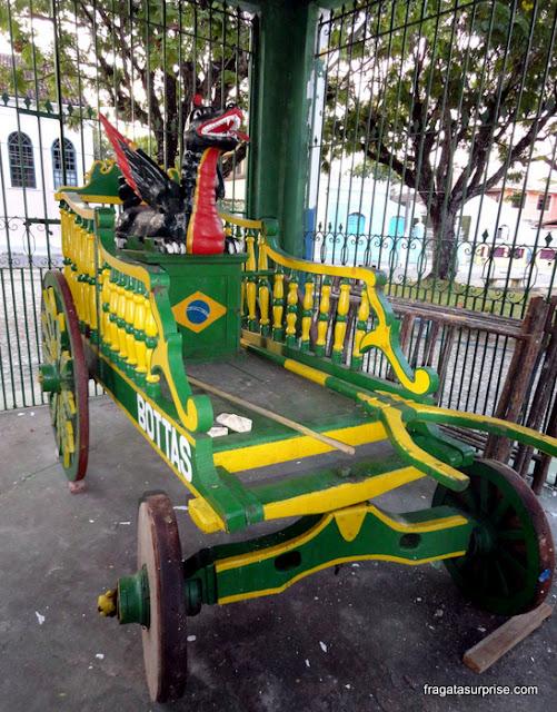 Carro da Cabocla da Independência, Itaparica, Bahia