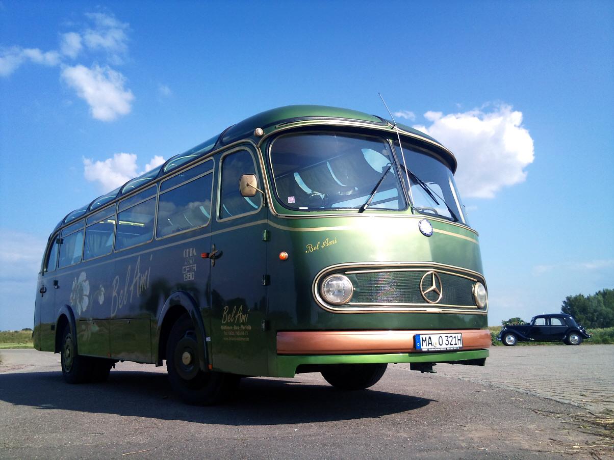 Transpress Nz Bel Ami Mercedes Oldtimer Bus