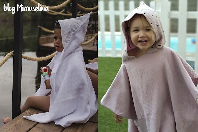 imprescindibles para ir a la playa con un recién nacido baño mar bebé poncho muselina capa de baño gasa