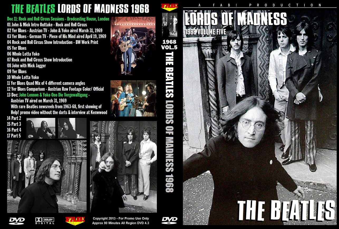 The Beatles – Lord Of Madness 1968 Vol.05 DVD