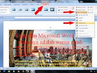 Cara Mengganti Background Microsoft Word Dengan Gambar