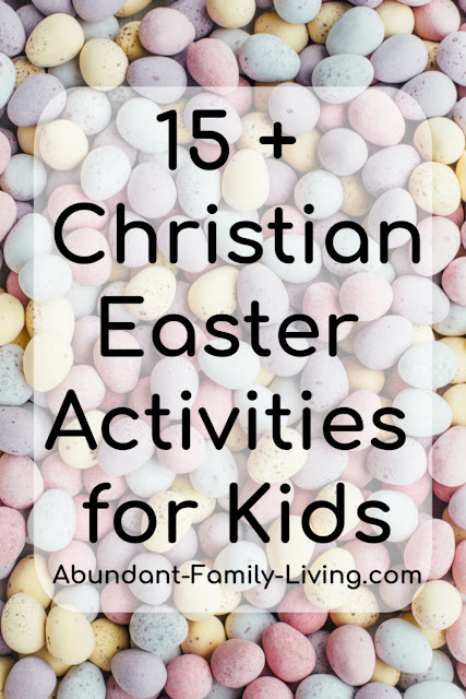 15 Christian Easter Activities for Kids