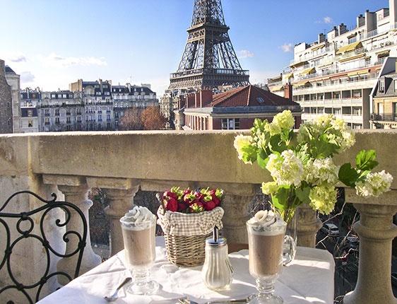 De visita en París