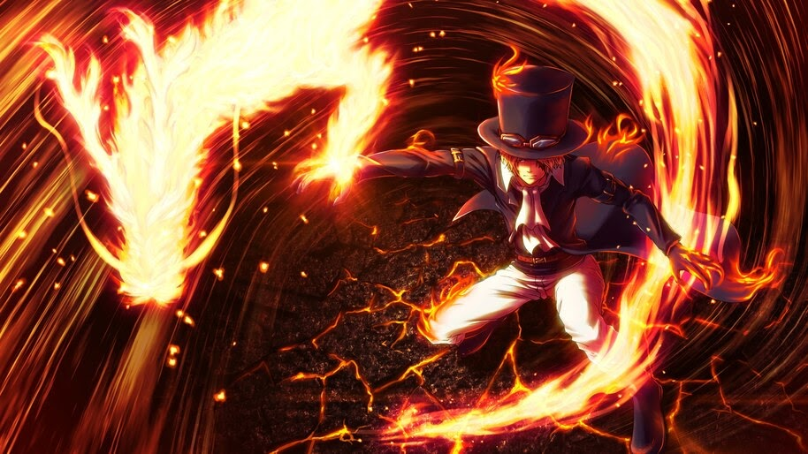 Sabo, Dragon, Flame, One Piece, 4K, #6.126