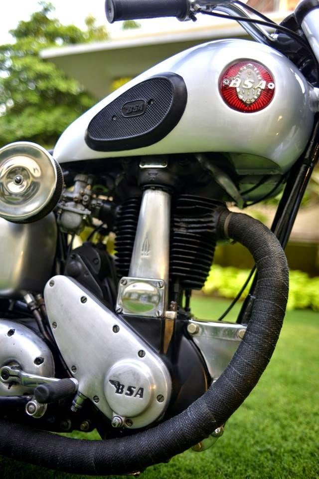 neue bsa motorrad