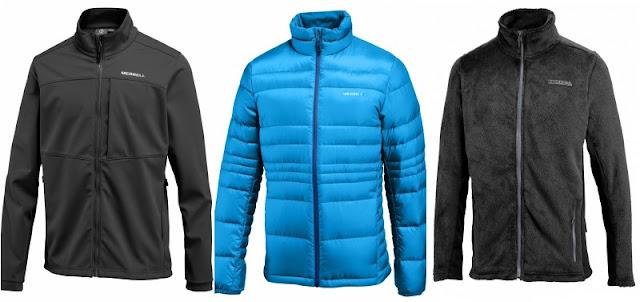 Merrell jackets